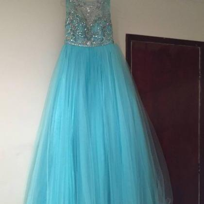 Prom Dress , Soft Tulle Prom Dress ..