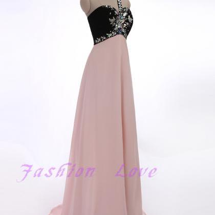 One Beading Shoulder Floor Length P..